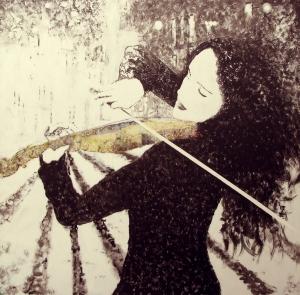 Violin Girl 3